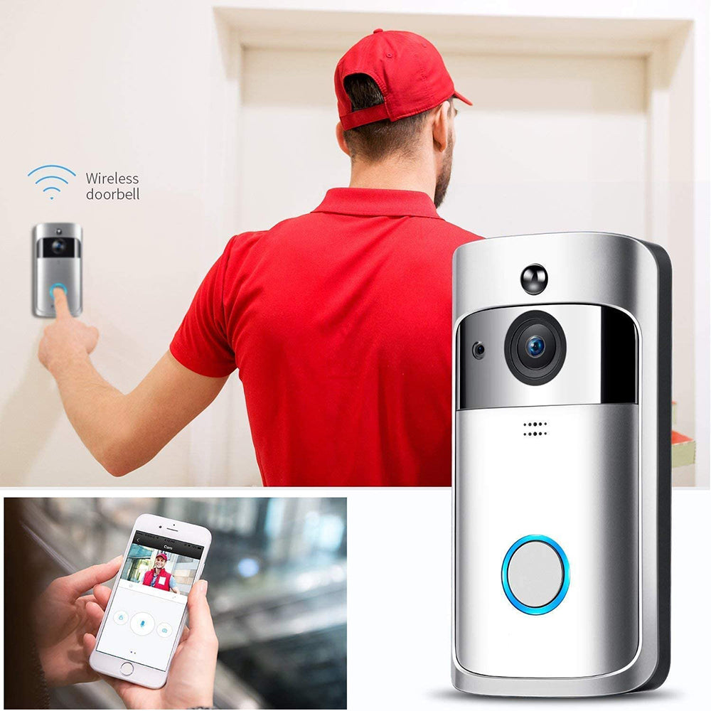 SL® Wireless Video Doorbell | 1080p WiFi Camera | Real-time Video
