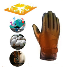Load image into Gallery viewer, Winter Electric Heated Gloves Windproof Cycling Warm Heating Touch Screen Skiing Gloves USB Powered Heated Gloves For Women(No Power Band)
