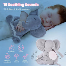 Load image into Gallery viewer, Momcozy™ Baby Elephant White Noise Machine with Light