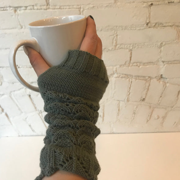Knit Arm Warmers