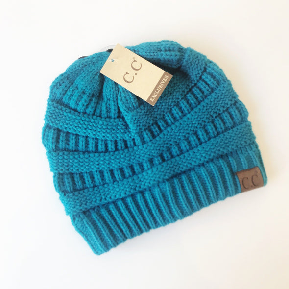 Classic Fuzzy Lined Winter Beanie