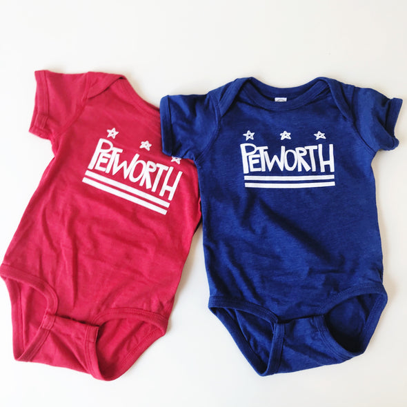 DC Neighborhood Onesies