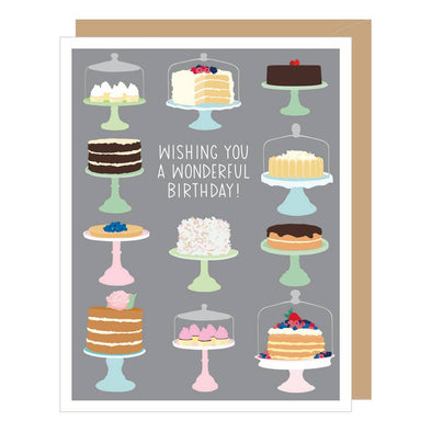 Bakery Cakes Birthday Card