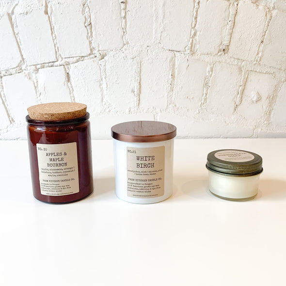 Farm Kitchen Candles
