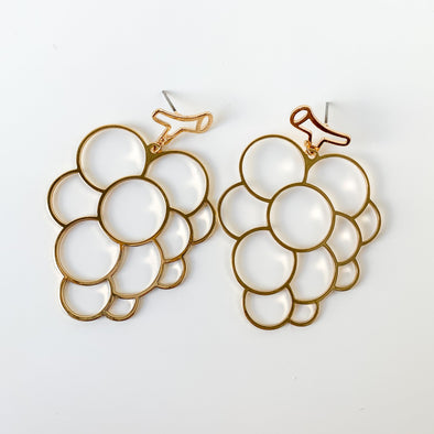 Grape Vines Think Alike Earrings