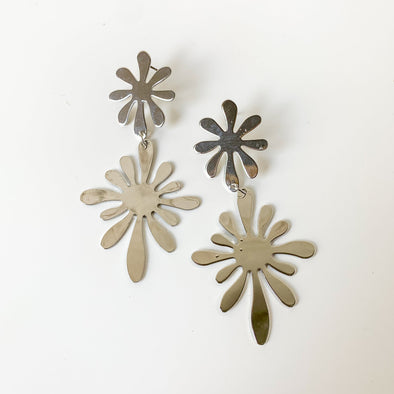 Groovy Floral Earrings