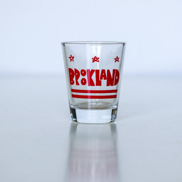 DC Neighborhood Shot Glasses