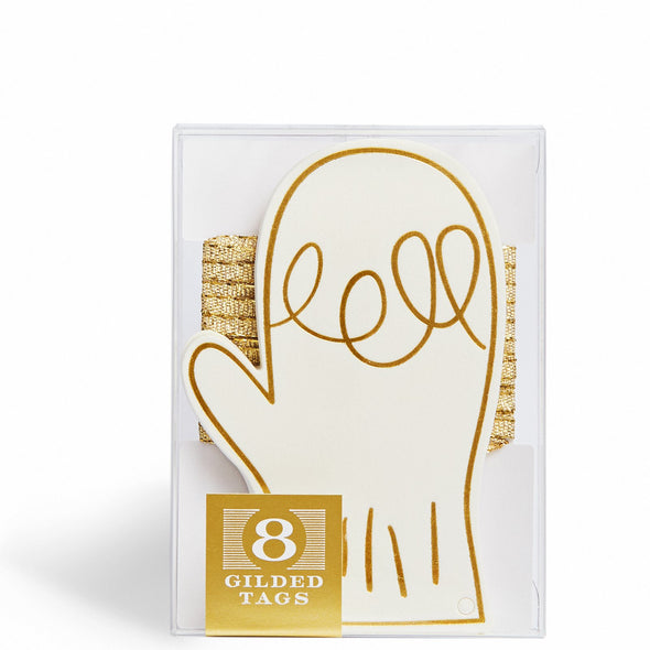 Gilded Mitten Gift Tags