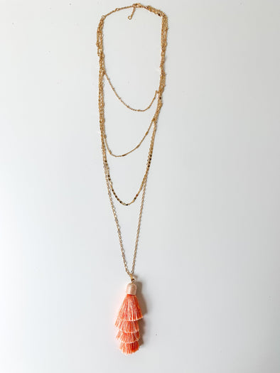 The Tiered Tassel Necklace