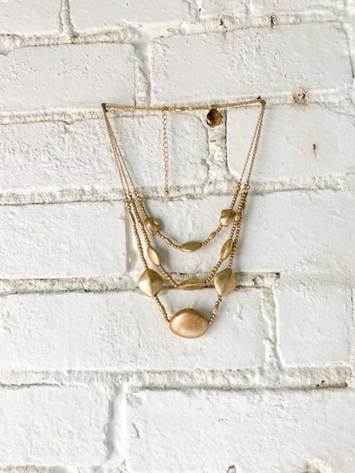 The Understated Statement Necklace