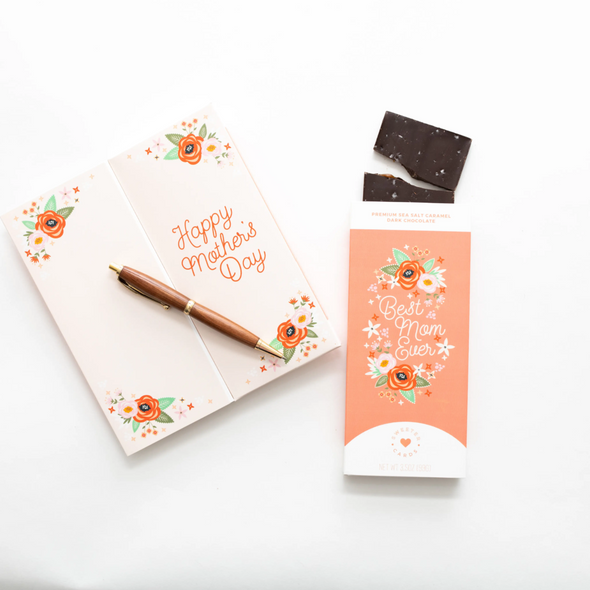 Sweeter Cards Mother's Day Sea Salt Caramel Dark Chocolate
