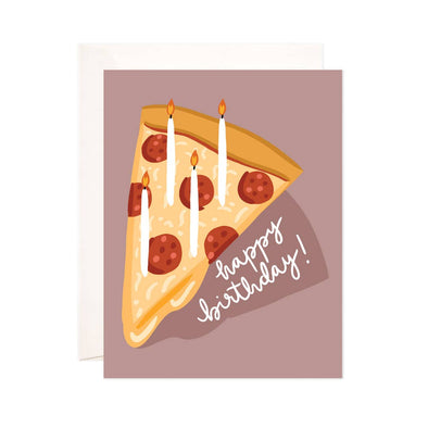 Birthday Pizza Greeting Card