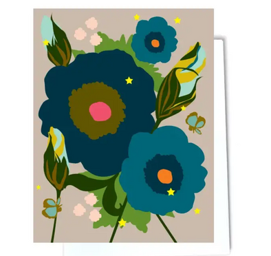 Buds And Flowers Note Card