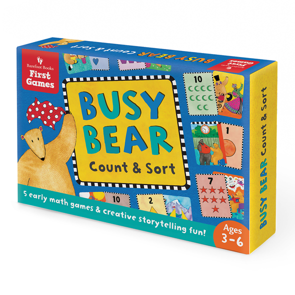 Busy Bear Count & Sort Cards