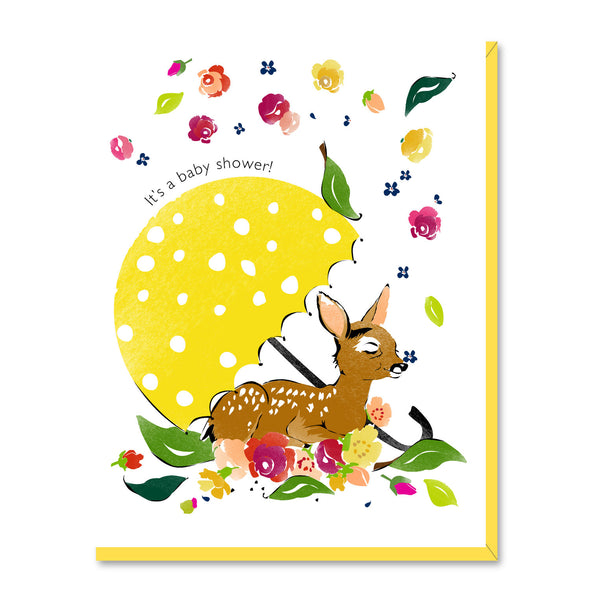 Baby Shower Fawn