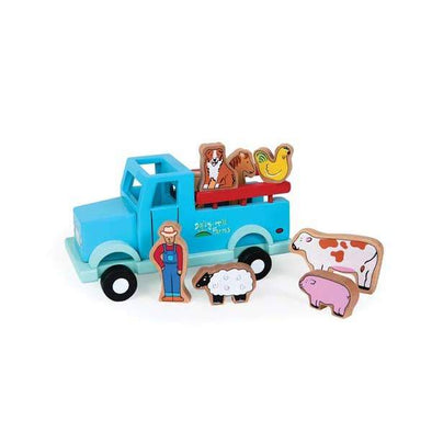 Jack Rabbit Down on the Farm Magnetic Truck