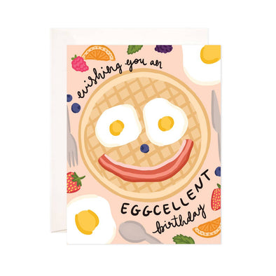 Eggcellent Birthday Greeting Card