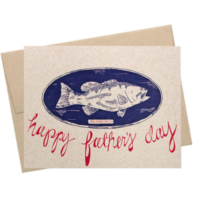 Big Daddy Bass Father's Day Card