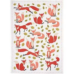 Foxes Tea Towel (set of 3)