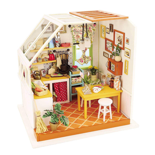 Jason's Kitchen DIY Miniature Dollhouse Kit
