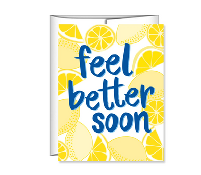 Feel Better Soon Lemons Card