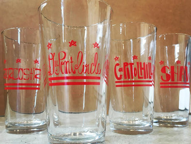 DC Neighborhood Pint Glasses
