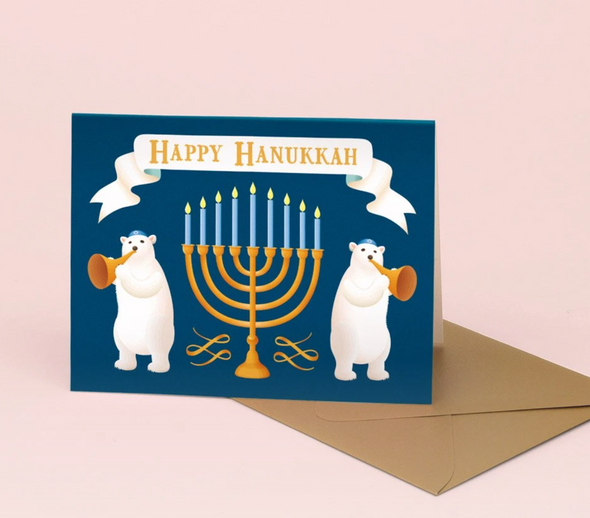 Happy Hanukkah Polar Bears