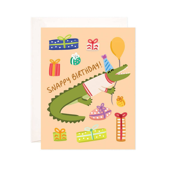 Snappy Birthday Greeting Card