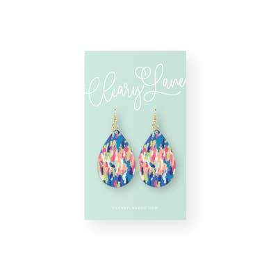 The Sequoia Teardrop Earring