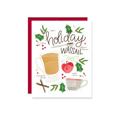 Holiday Wassail Card