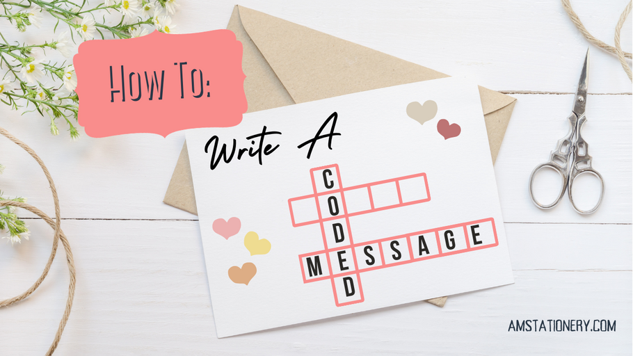 How To Write A Coded Message