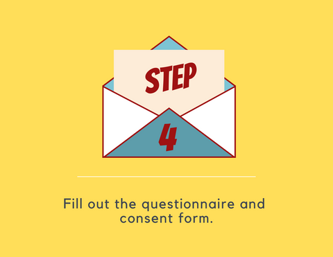 find a pen pal process step 4: fill out the questionnaire