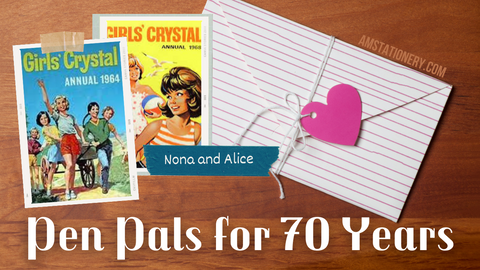Pen Pals for 70 Years: Alice and Nona