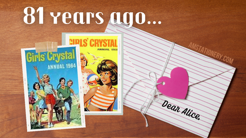81 years ago, Alice and Nona wrote their first letter