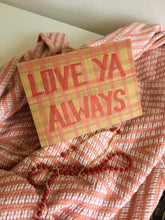 "Load image into Gallery viewer, ""Love Ya Always"" Set of 3 Handmade Greeting Cards"