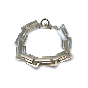 Emer Roberts Fine Jewellery Silver Large Link Chain Bracelet