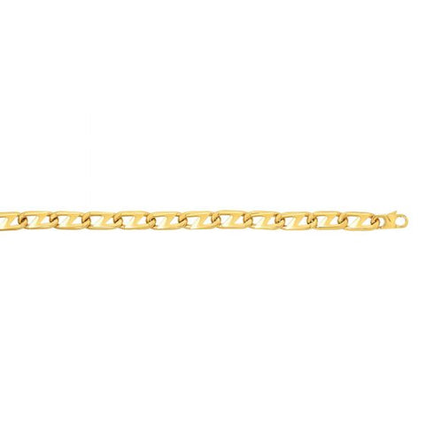 14kt 8.5'' Yellow Gold Bracelet