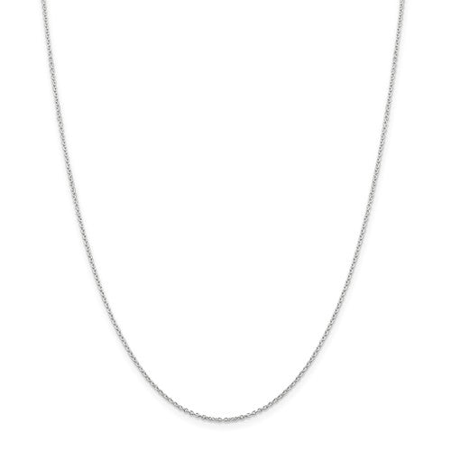 Sterling Silver 1.25mm Cable Chain