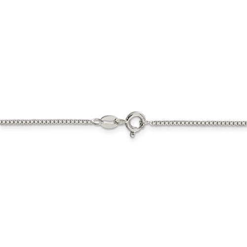 Sterling Silver 1.10mm Box Chain