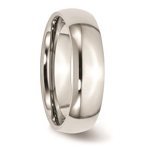Stainless Steel 6mm Polished Band