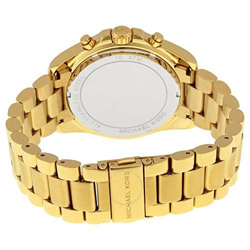Michael Kors MK5739 Ladies Blair Gold Plated Chronograph Watch