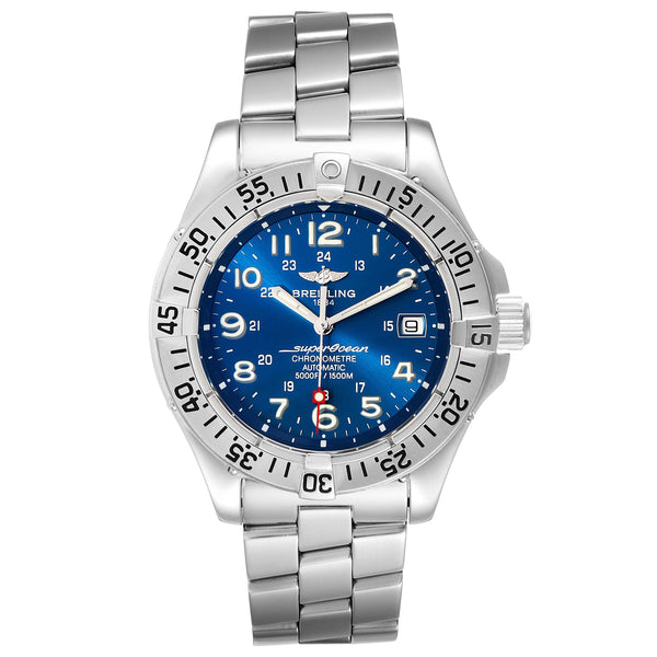 Men's Superocean Steelfish Blue Dial Watch - Model A17360