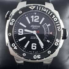 Men's Alpina Extreme Diver 1000 Meter Automatic Watch - Model AL525X5AEV6