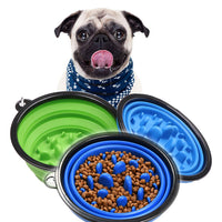 Silicone Dog Food Bowl [SLOW THEM DOWN]