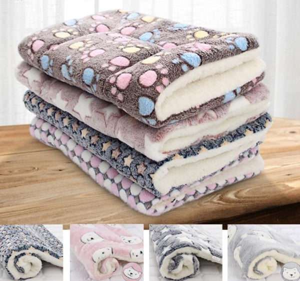 Thick Flannel Fleece Blanket