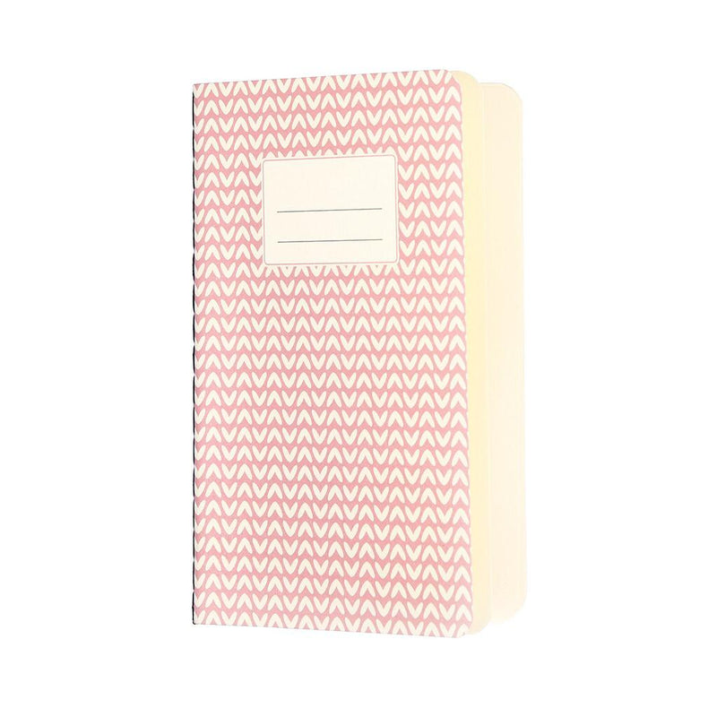 Small Pink Abstract Notebook | Ruby and J
