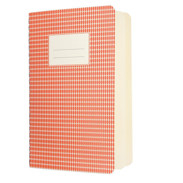 Small Orange Abstract Notebook | Ruby and J