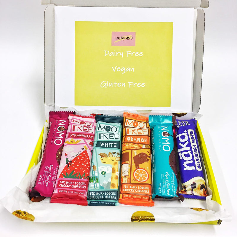Dairy-Free/Vegan/Gluten-Free Treat Box (1) | Ruby and J