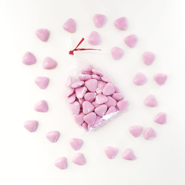Mini Heart Chocolate Dragees | Ruby and J