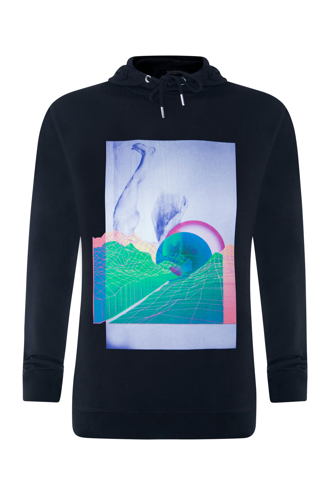 Luxury Black Diving Rock Hoodie